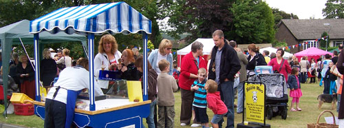 Maizie Moo Ice-cream at Cawthorne village fayre